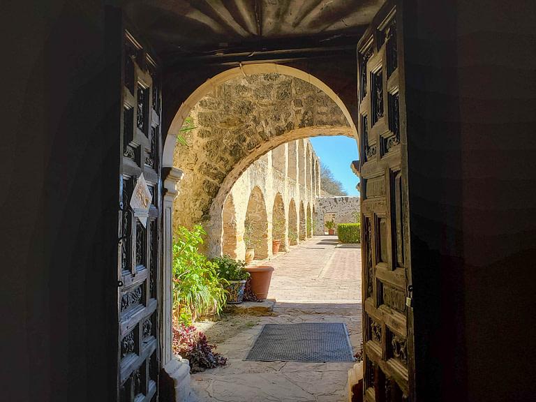 mission doorway