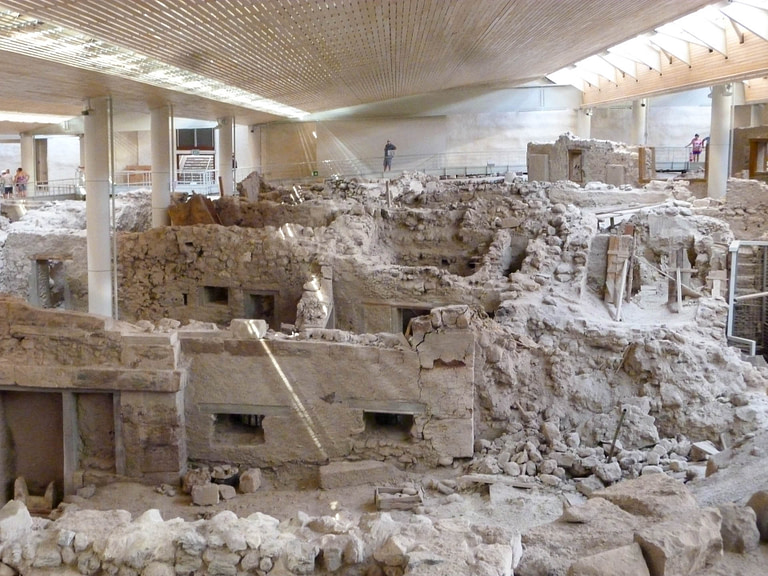 overview of Akrotiri