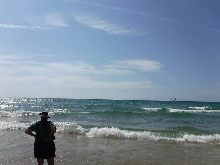 beach at Lake Michigan