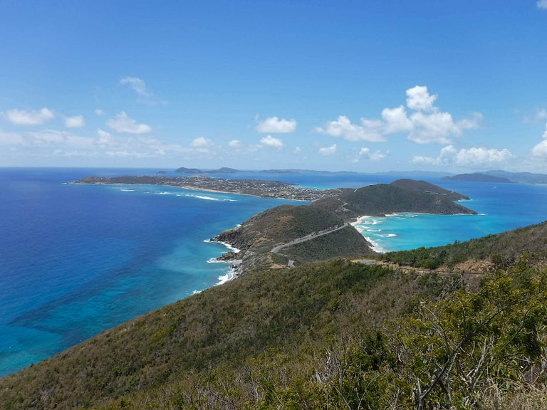 Virgin Gorda hilltop view