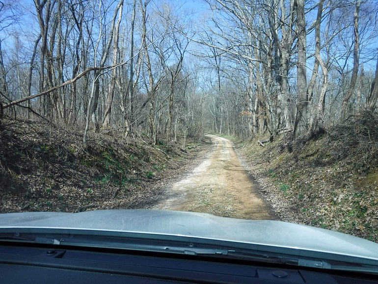 driving the Old Trace