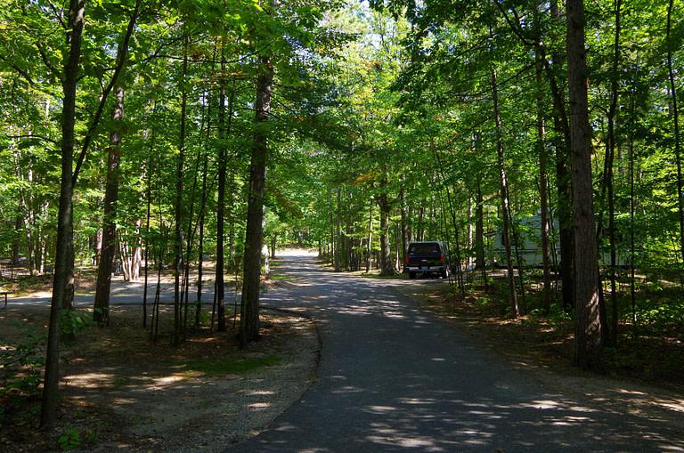 Petoskey State Park campground