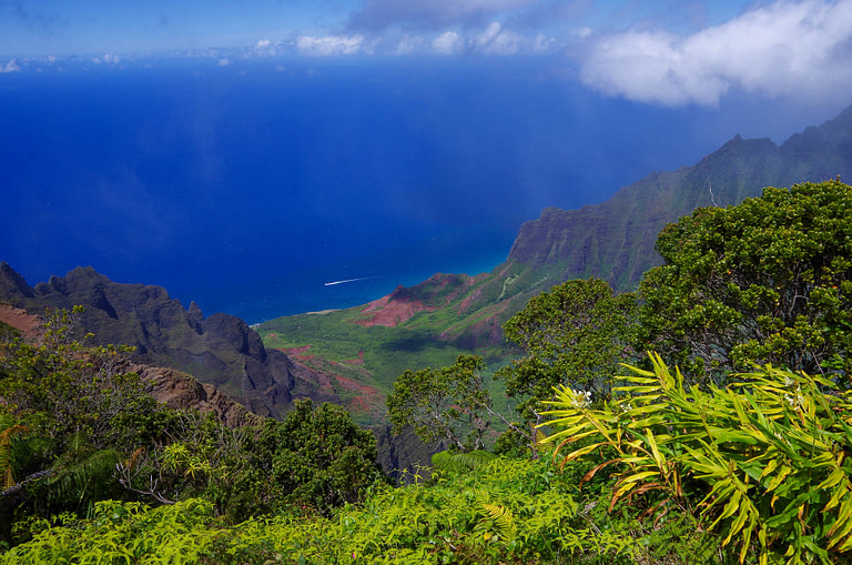Kalalau Valley overlook