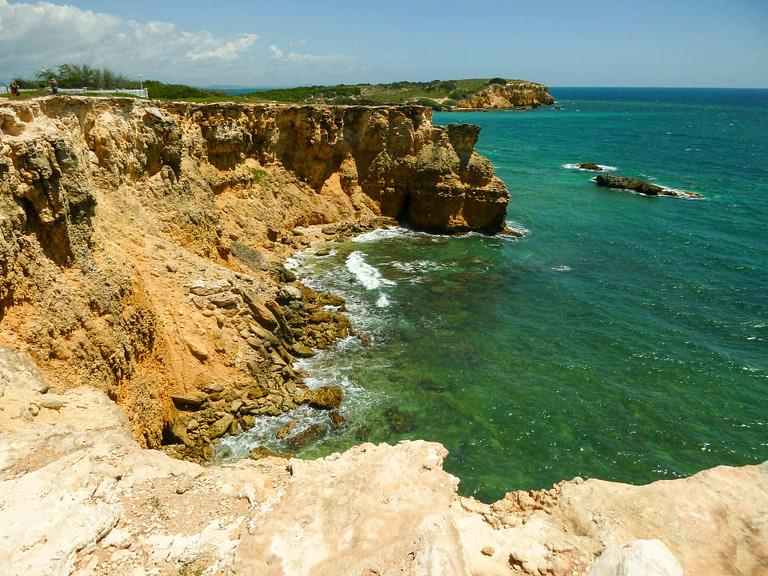 cliffs at Cabo Rojo