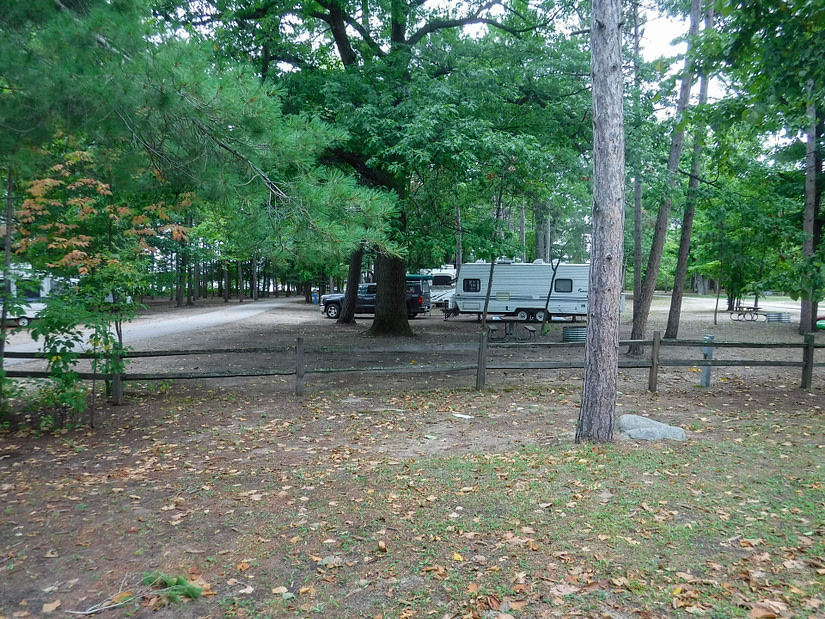 Young State Park campground