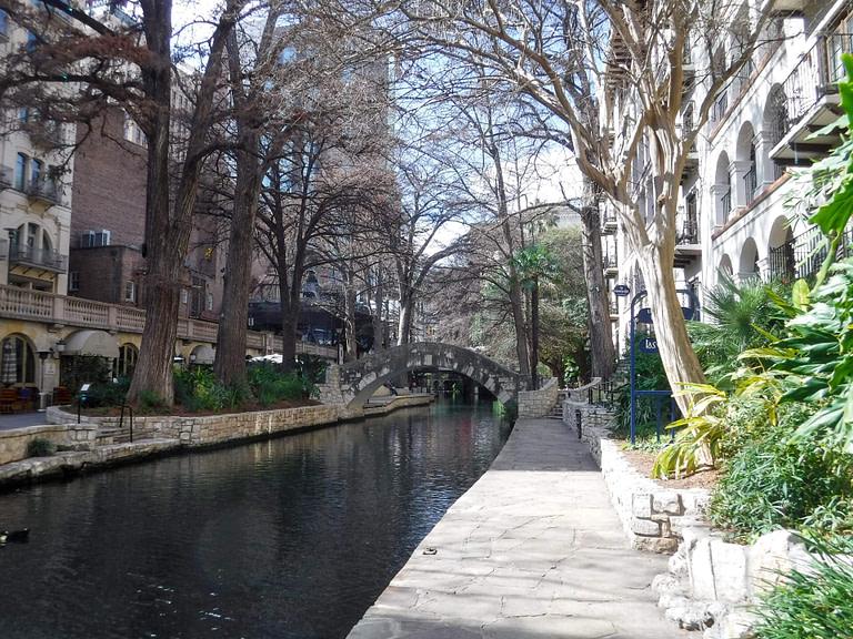 River Walk with bridge