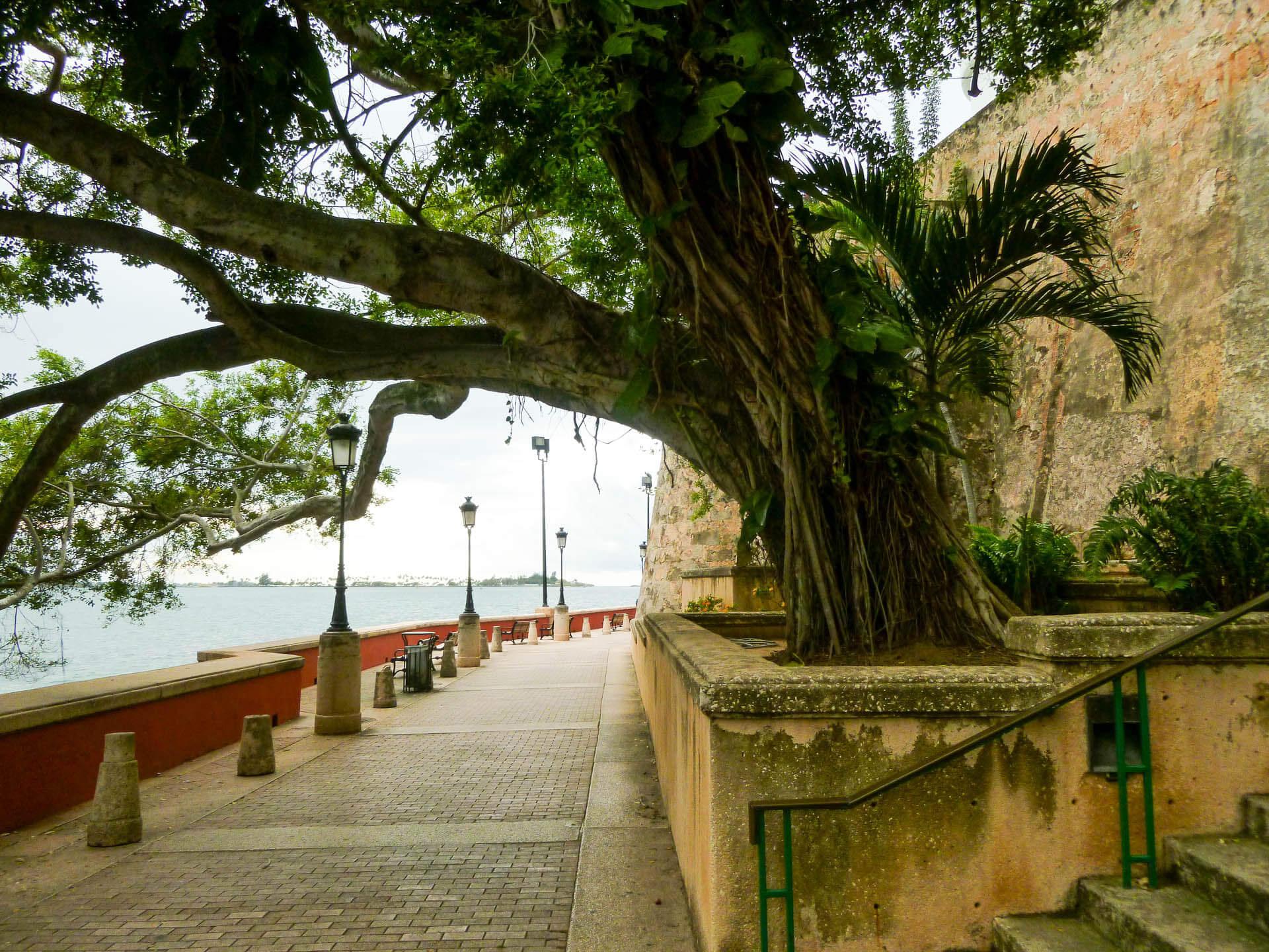 Old San Juan city walls