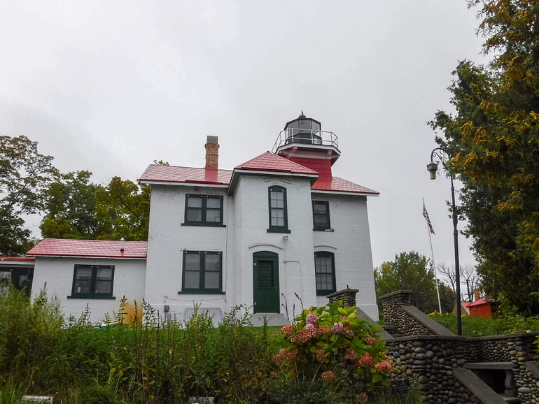 lighthouse on Leelanau