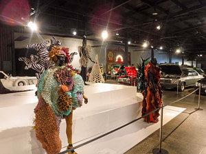 wearable art and cars
