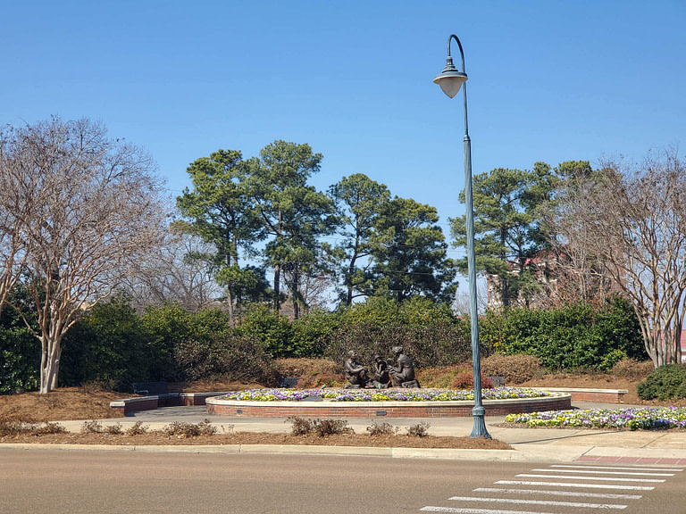 gardens at Ole Miss