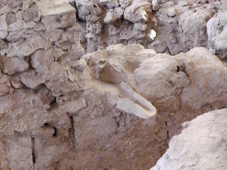 ancient gutter