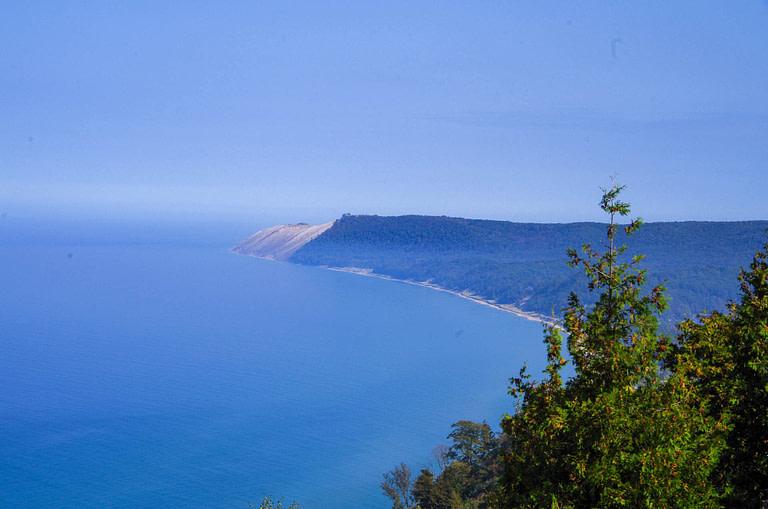 Empire Bluffs hike view
