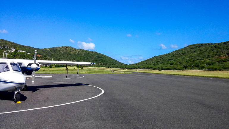 small airport