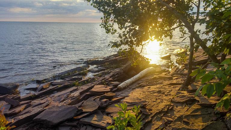 sunrise over Lake Superior