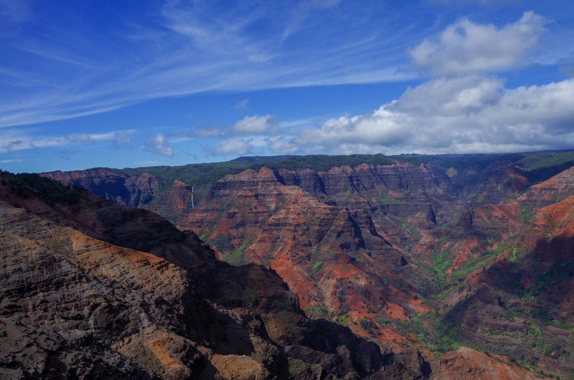 Waimea Canyon overview