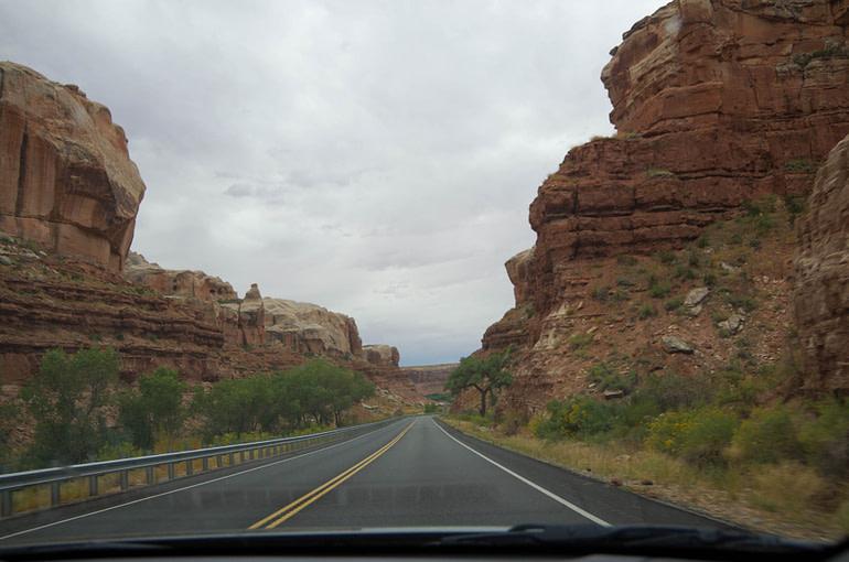 road in southern Utah